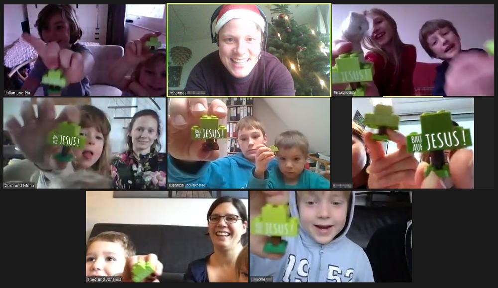 Kindergottesdienst per Videokonferenz
